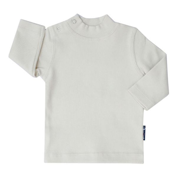 تی شرت آستین بلند بچگانه آدمک کد 145401 رنگ سفید
