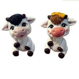 مجسمه مدل گاو مجموعه دو عددی