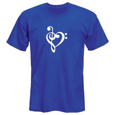 تی شرت زنانه طرح موسیقی کد 53047