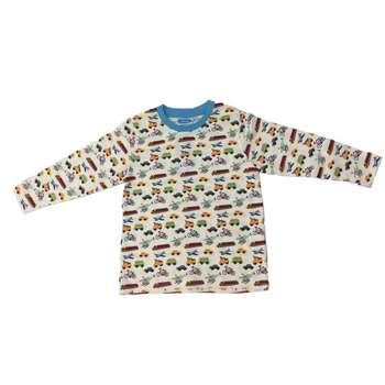 تی شرت آستین بلند پسرانه ونیس مدل khab