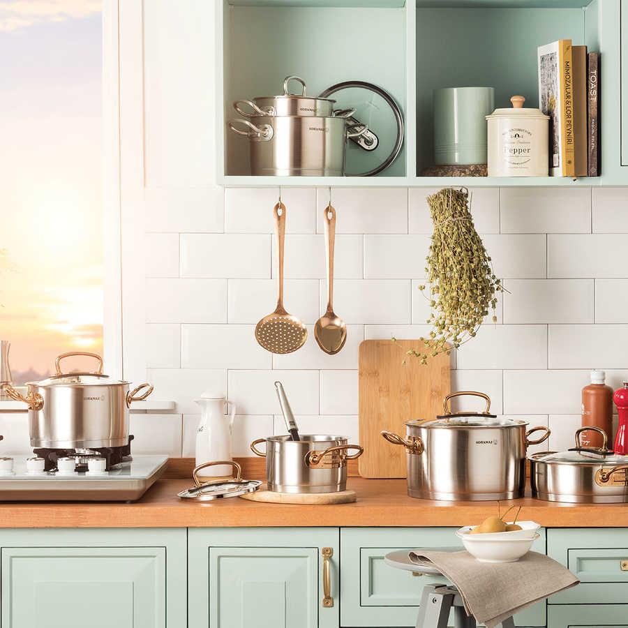 سرویس پخت و پز 8 پارچه کرکماز مدل پرولاین