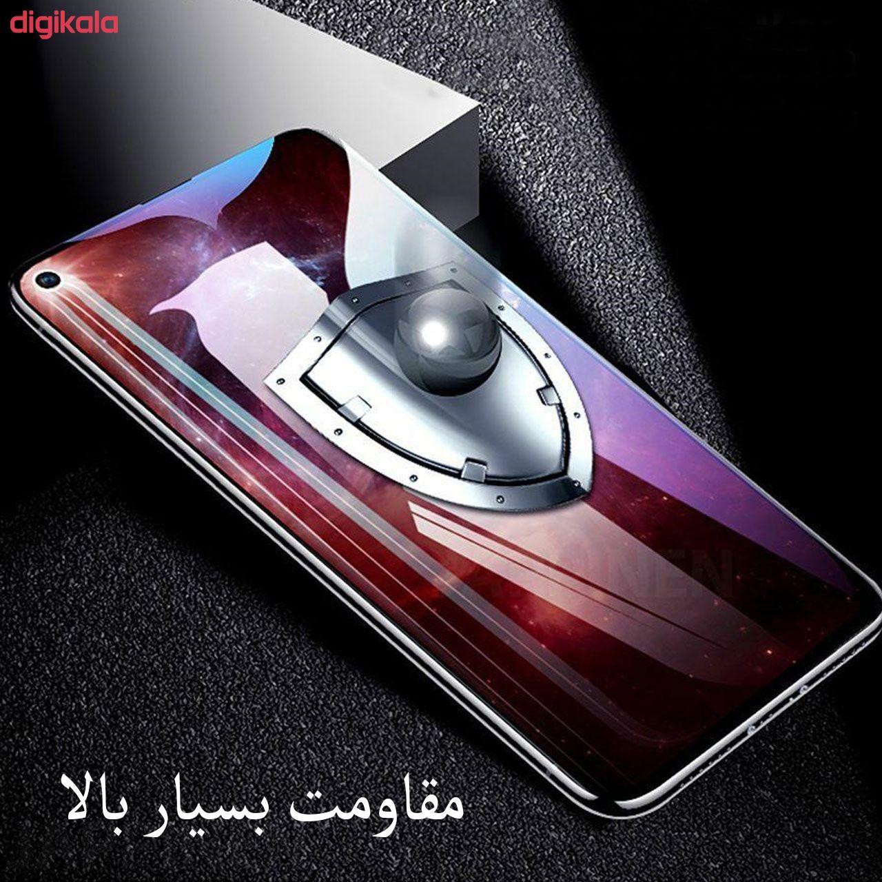 محافظ صفحه نمایش مدل FCG مناسب برای گوشی موبایل شیائومی Redmi Note 9 main 1 7