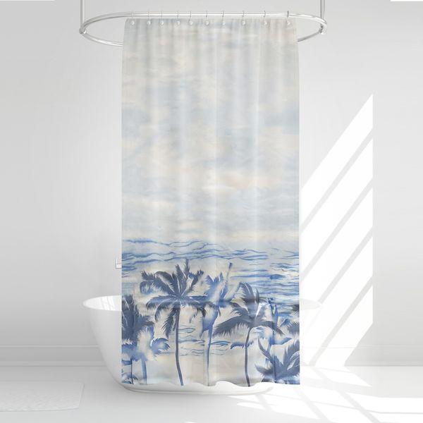 پرده حمام آرمیتا کد W046 سایز 180 × 200 سانتی متر