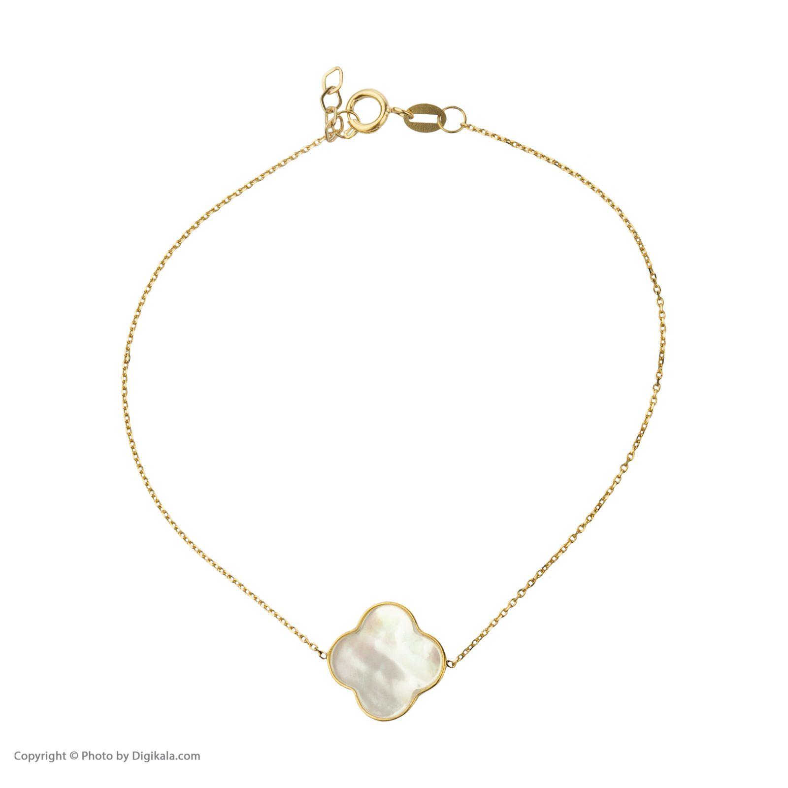 دستبند طلا 18 عیار زنانه میو گلد مدل GD627 -  - 3