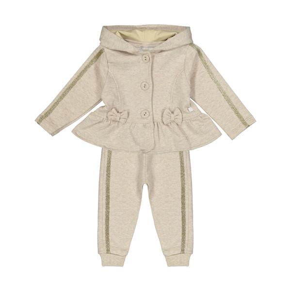 ست سویشرت و شلوار نوزادی فیورلا کد 20525