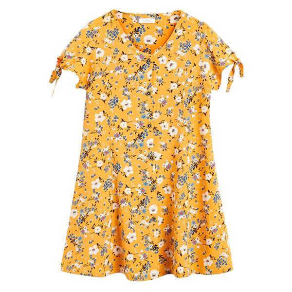 پیراهن دخترانه نکست مدل OF04017