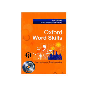 کتاب Oxford word skills Intermediate اثر Ruth Gairns And Stuart Redman انتشارات الوندپویان