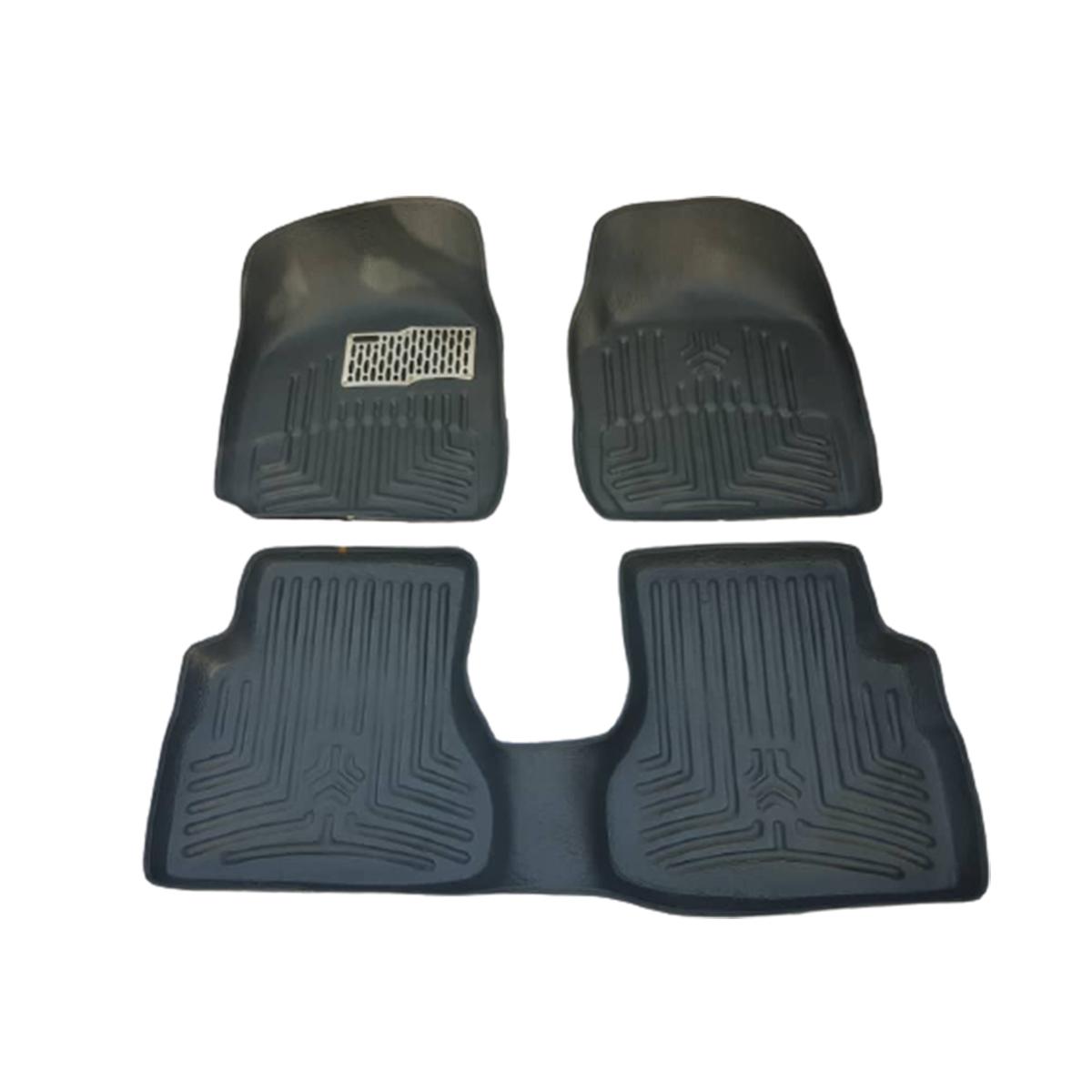کفپوش 3بعدی خودرو مدل C5 مناسب برای تیبا                     غیر اصل