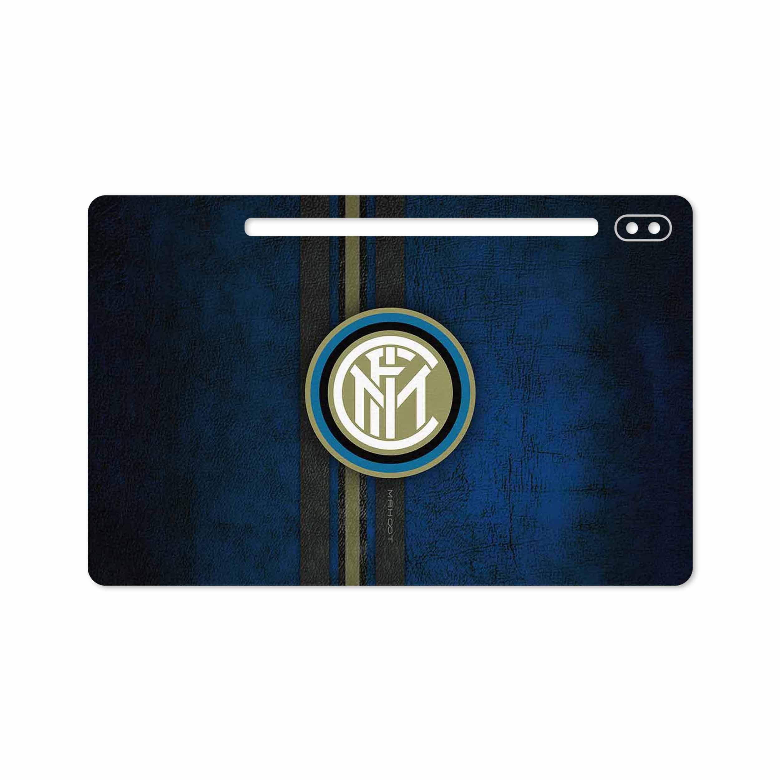 بررسی و خرید [با تخفیف]                                     برچسب پوششی ماهوت مدل Inter-Milan مناسب برای تبلت سامسونگ Galaxy Tab S6 2019 SM-T865                             اورجینال