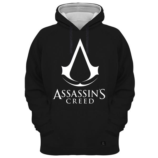 هودی مردانه 27 مدل assassins creed کد AL01 رنگ مشکی
