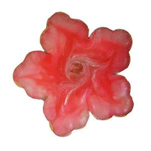 زیر لیوانی رزین طرح گل مدلAZ50