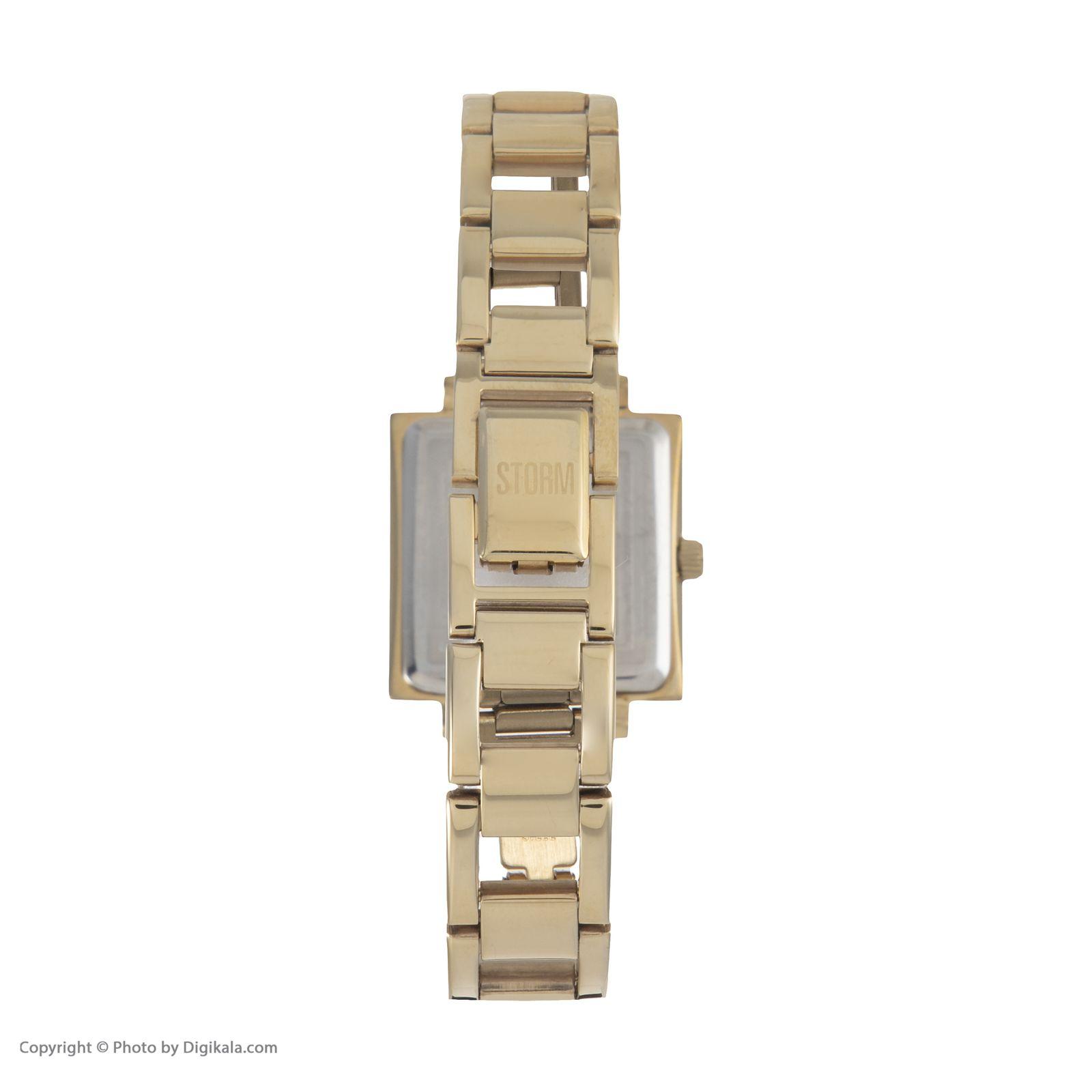 ساعت مچی عقربه ای زنانه استورم مدل ST 47126-GD -  - 5