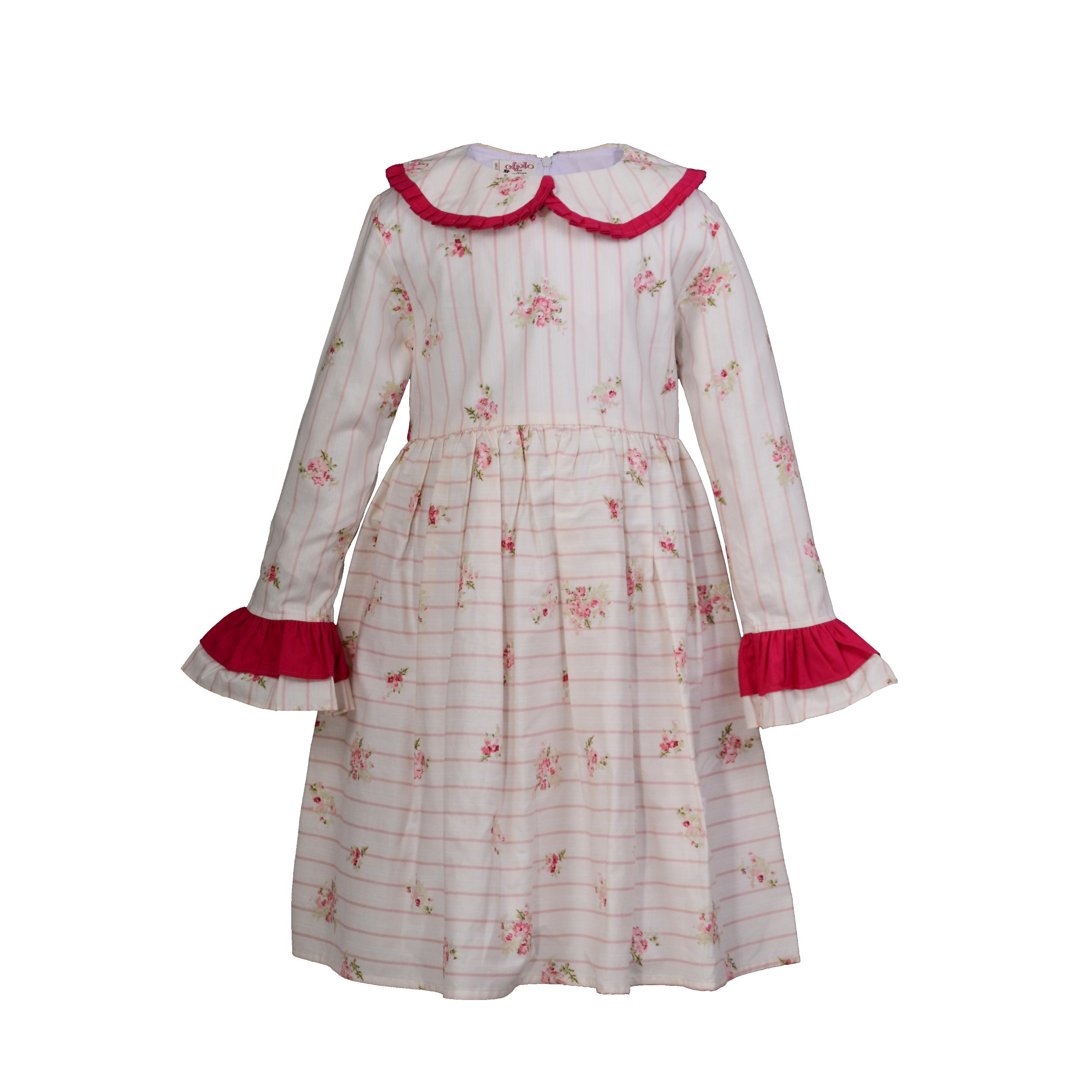 پیراهن دخترانه ملیران کد 88-13