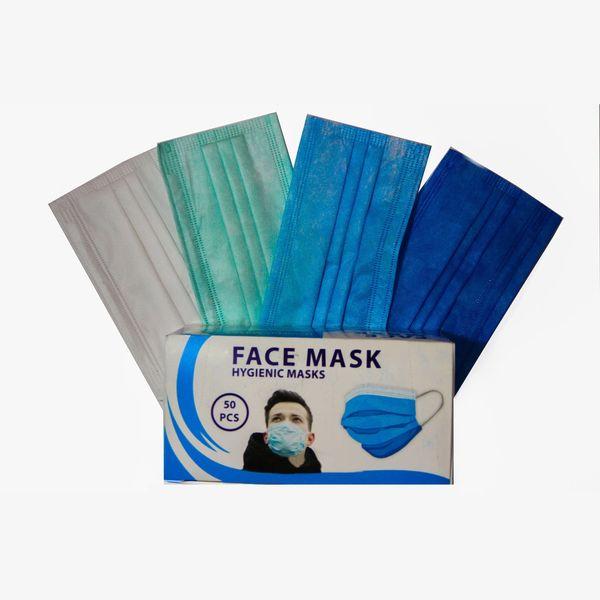 ماسک تنفسی مدل 3270 بسته 50 عددی