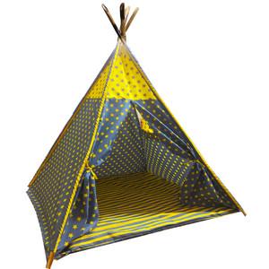 چادر بازی کودک مدل سرخپوستی کد 222
