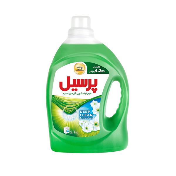 مایع لباسشویی پرسیل Deep Clean با رایحه گل های سفید وزن2.7 کیلوگرم