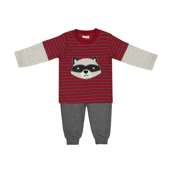 ست تی شرت و شلوار نوزادی رابو کد 1295
