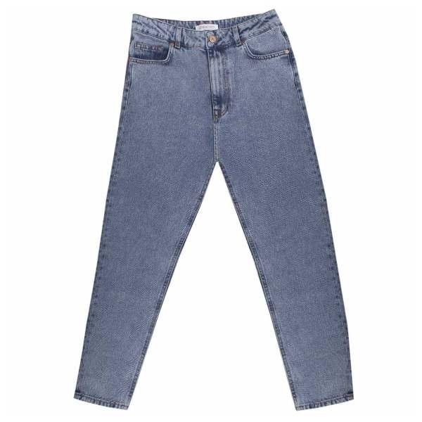 شلوار جین زنانه زیبو مدل D111-BLUE