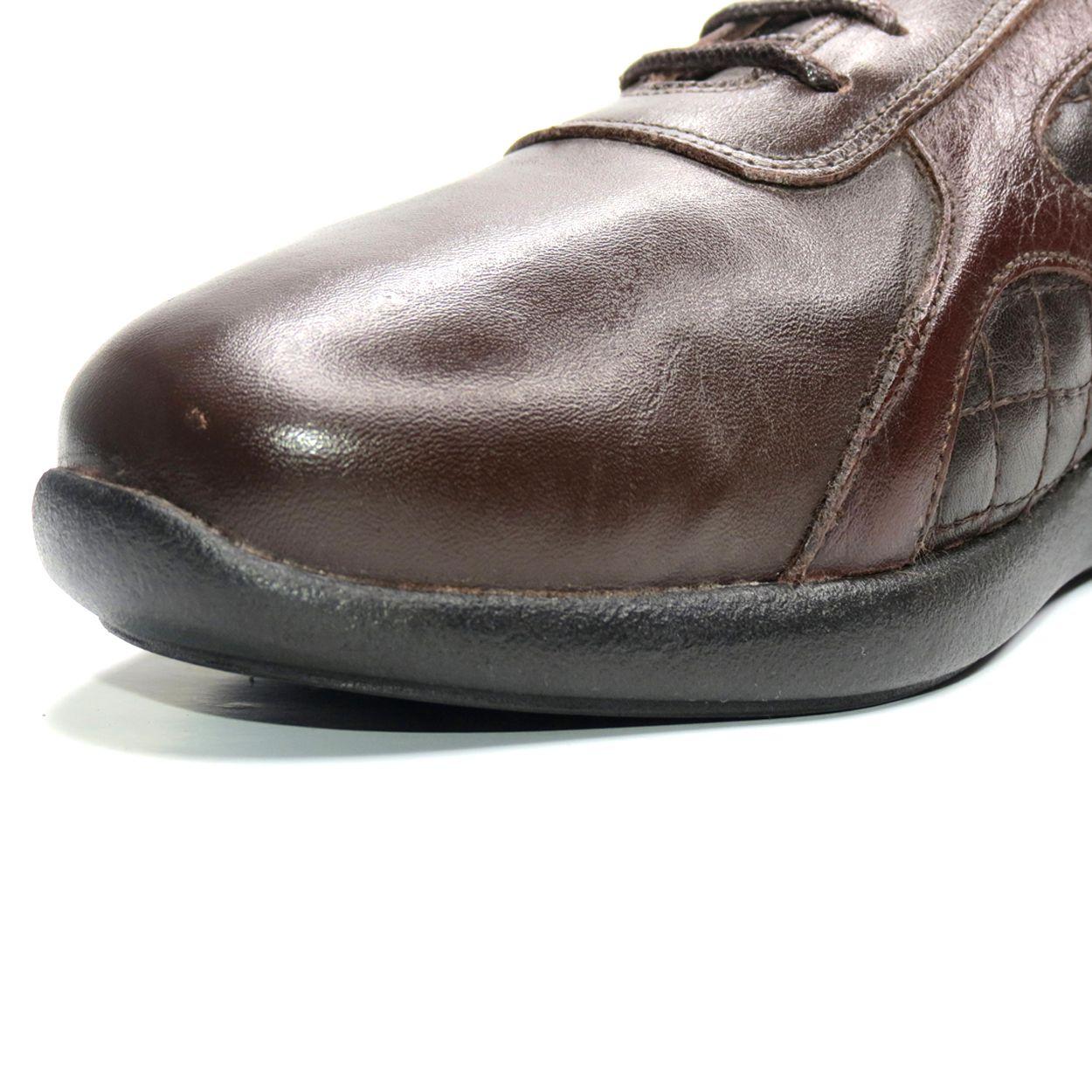کفش روزمره زنانه آر اند دبلیو مدل 761 رنگ قهوه ای -  - 8