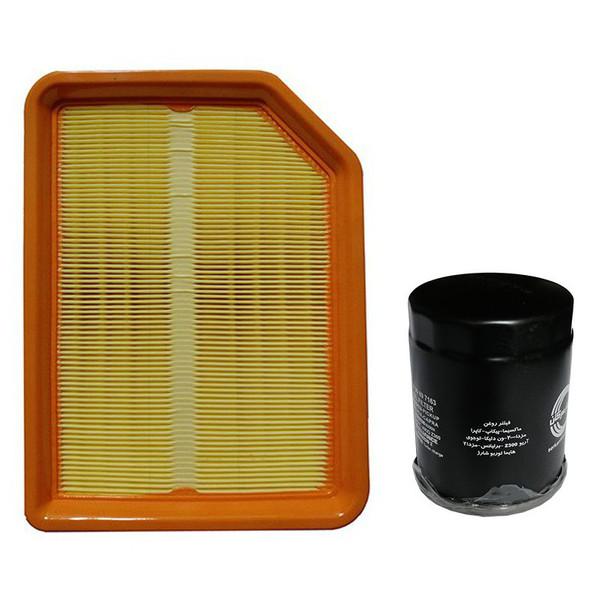 فیلتر روغن سرکان مدل 7163 مناسب برای آریو Z300 به همراه فیلتر هوا