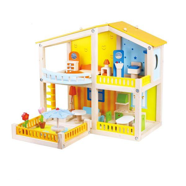 ست اسباب بازی لوازم خانه مدل خانه عروسک