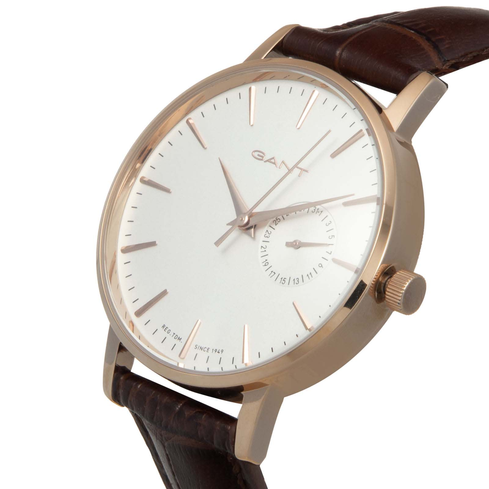 ساعت مچی عقربه ای مردانه گنت مدل W10924