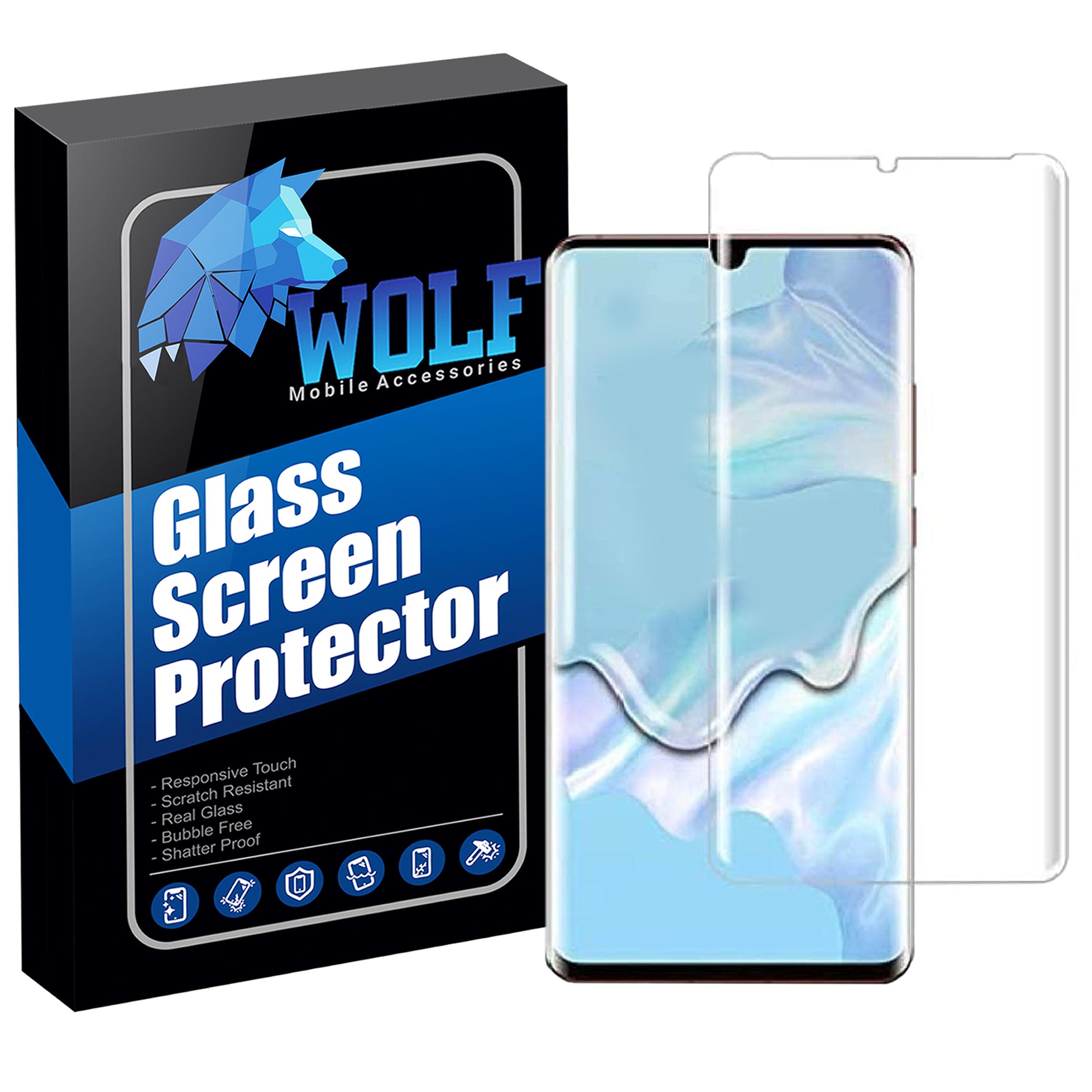 عنوان : محافظ صفحه نمایش یووی لایت ولف مدل EVT مناسب برای گوشی موبایل هوآوی P30 Pro