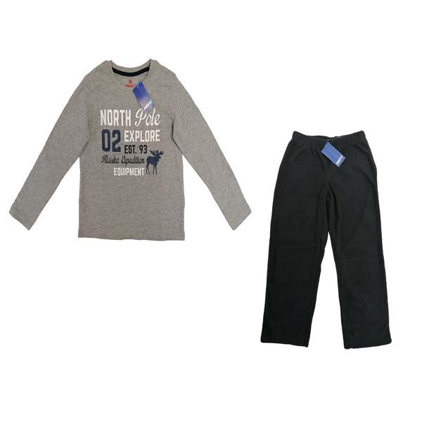 ست تی شرت و شلوار پسرانه پیپرتس مدل 123