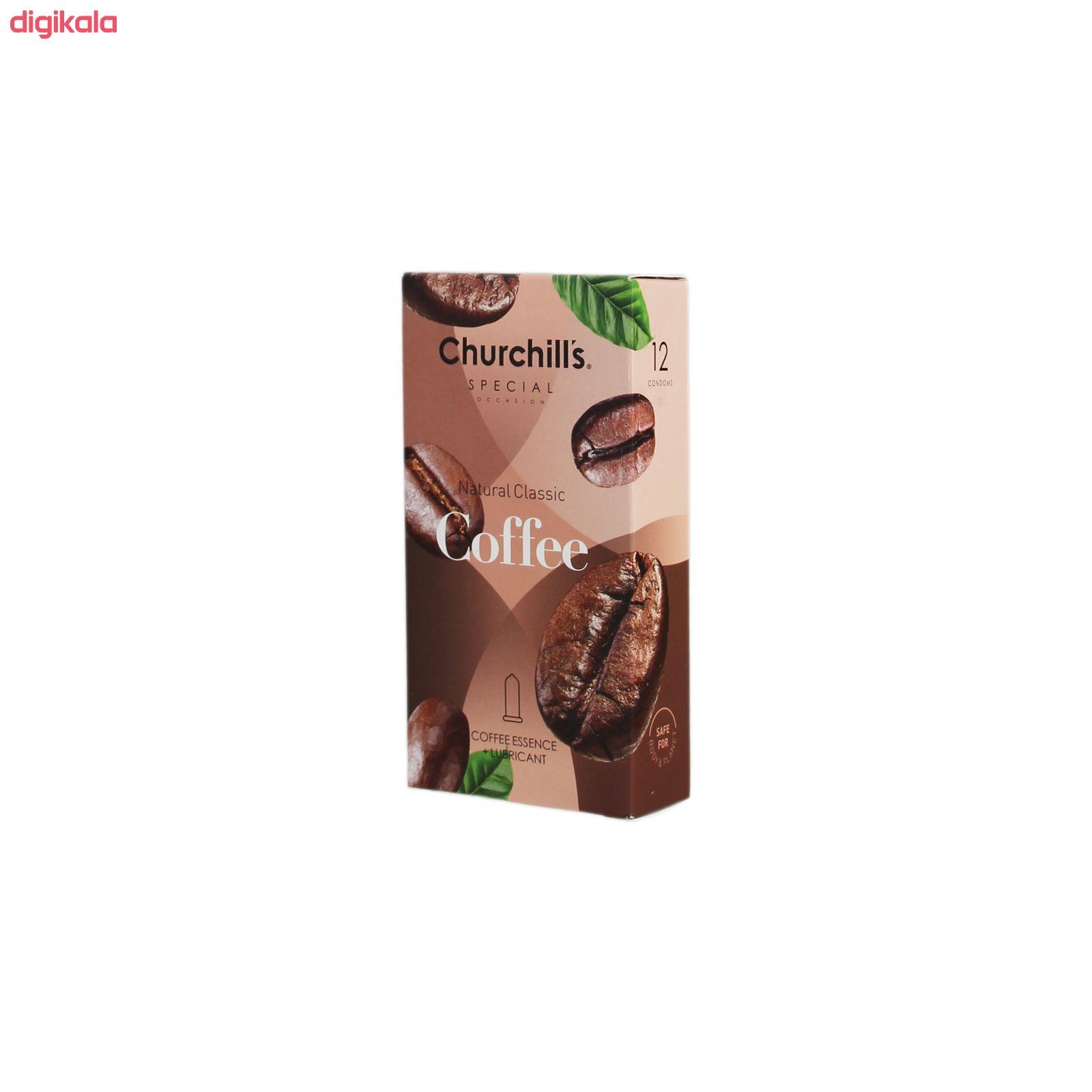 کاندوم چرچیلز مدل Coffee بسته 12 عددی main 1 1