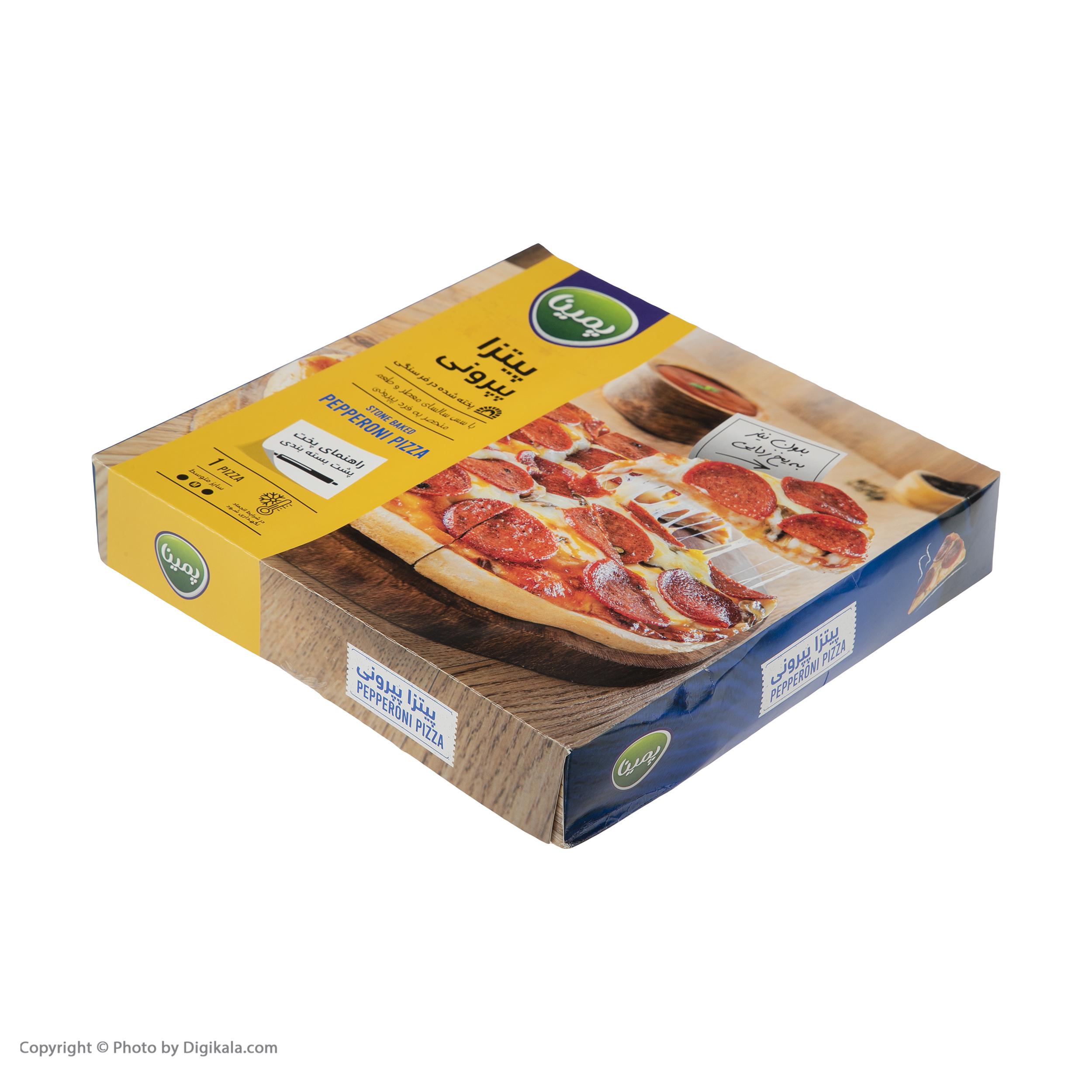 پیتزا پپرونی پمینا کاله مقدار 440  گرم main 1 1
