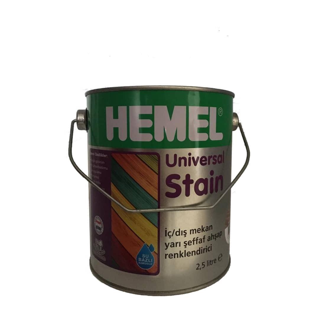 قیمت                                      رنگ چوب همل مدل universal stain حجم 2.5 لیتر