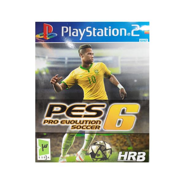 بازی فوتبال pes6 مخصوص پلی استیشن ۲