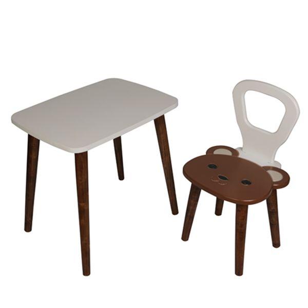 ست میز و صندلی کودک مدل خرس
