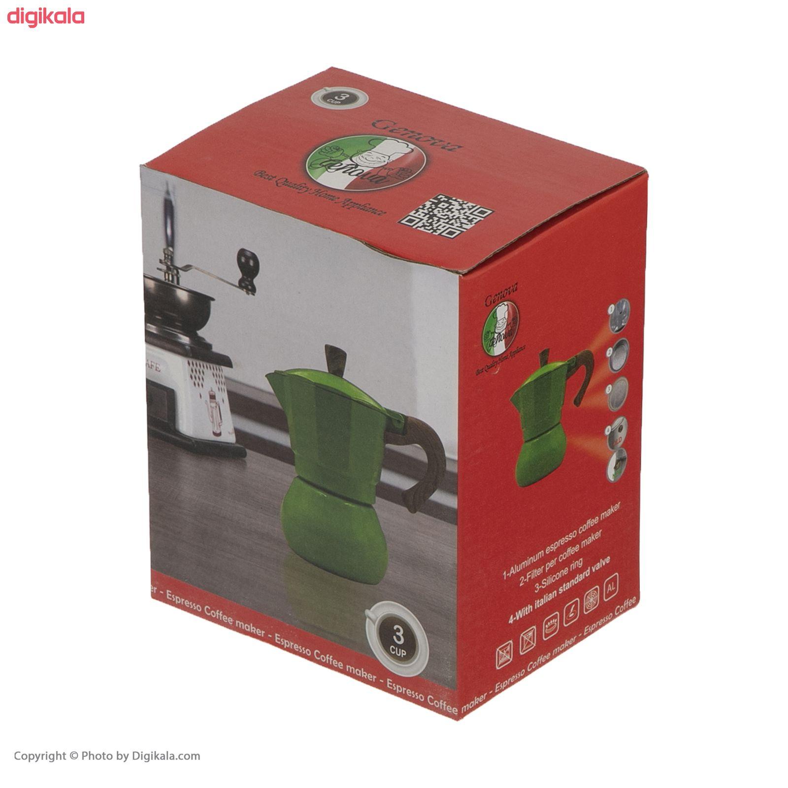 قهوه ساز جنوا مدل KPMW main 1 4