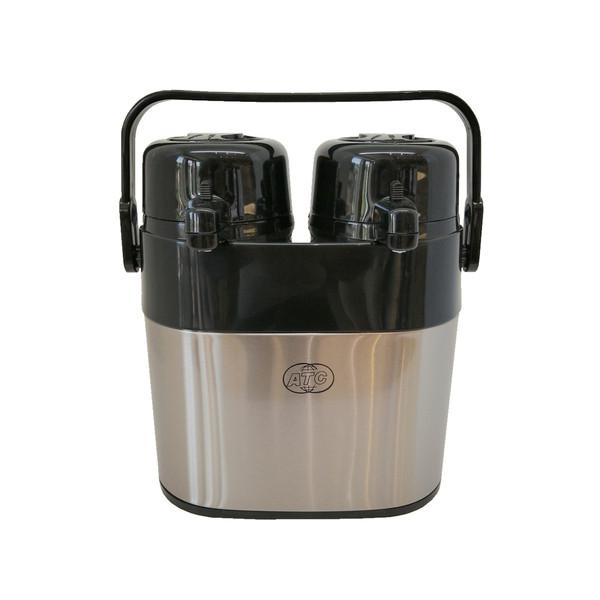 فلاسک چای دوقلو پمپی مدل A2