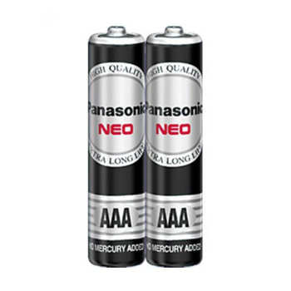 باتری نیم قلمی پاناسونیک مدل Neo R03NT/2S بسته دو عددی