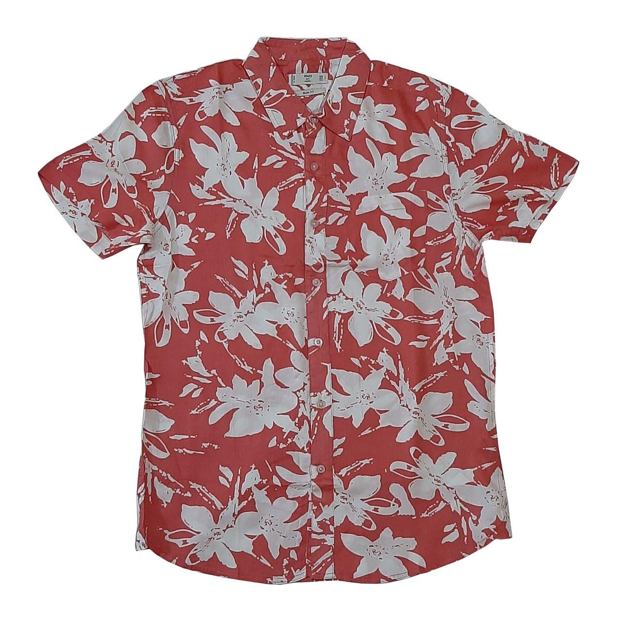پیراهن مردانه مانگو مدل hawaii-P