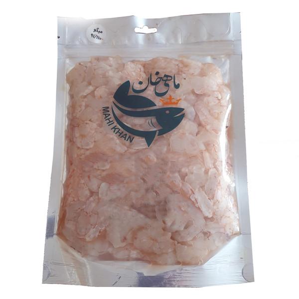 میگو پاک شده ماهی خان سایز 91-110 - 500 گرم