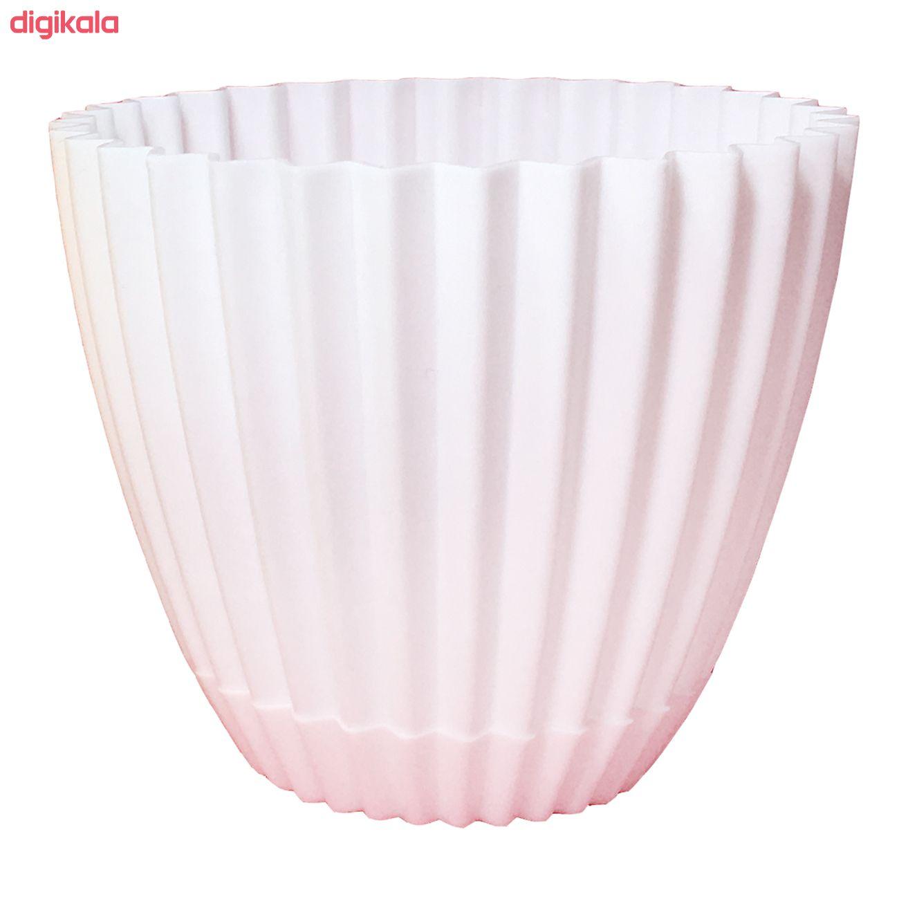 گلدان دانیال پلاستیک کد 1012 مجموعه 8 عددی main 1 5