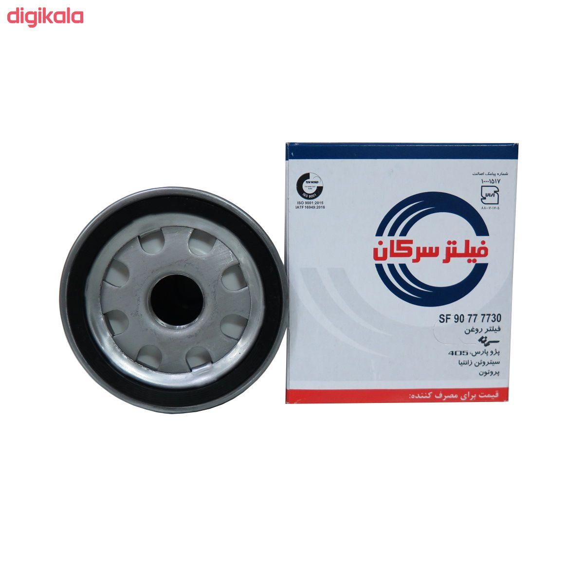 فیلتر هوا خودرو سرکان مدل SF939 به همراه فیلتر روغن و فیلتر کابین و فیلتر بنزین main 1 2