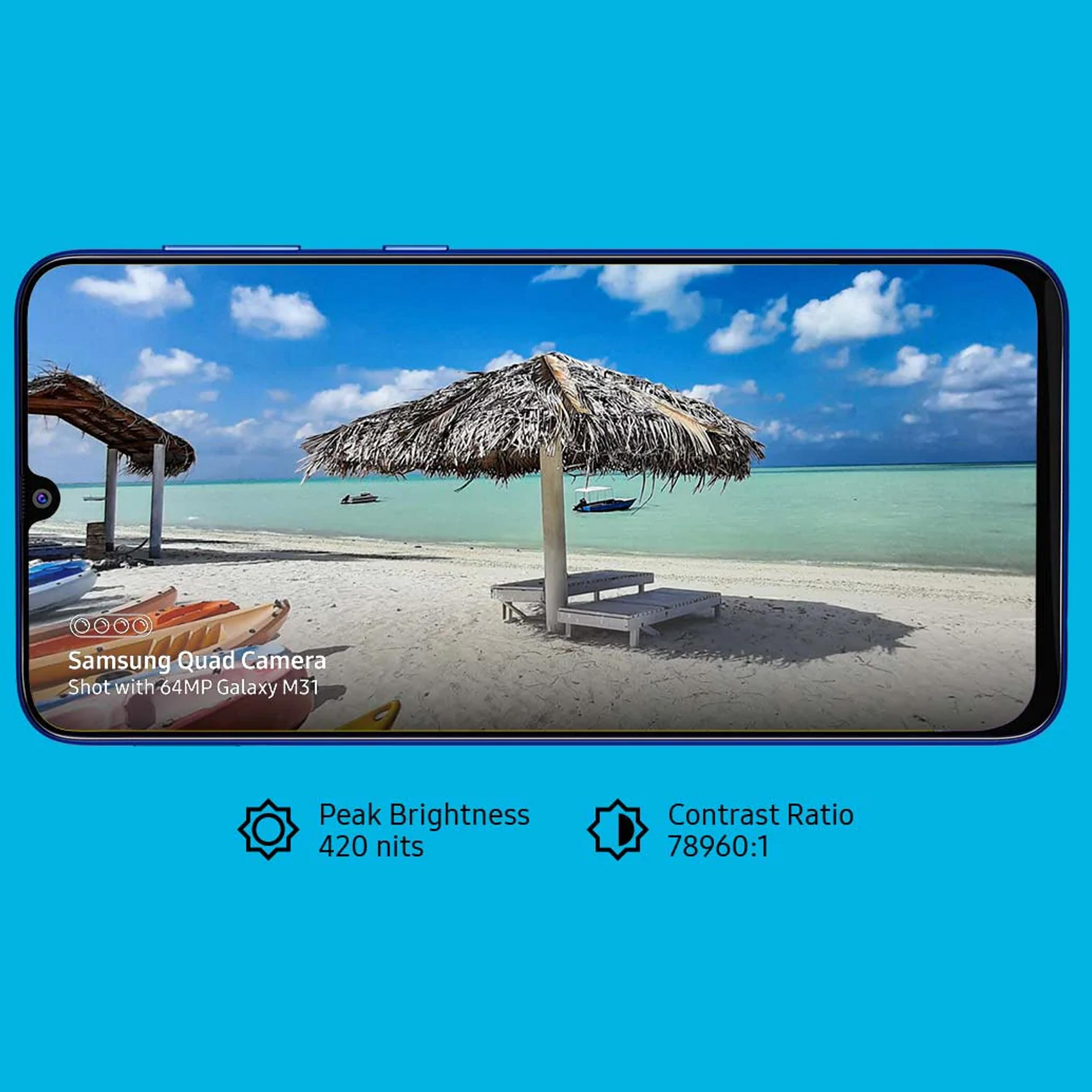 گوشی موبایل سامسونگ مدل Galaxy M31 SM-M315F/DSN دو سیم کارت ظرفیت 128گیگابایت  main 1 12