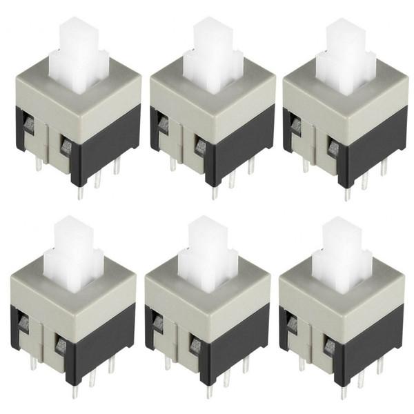 کلید 6 پایه مدل روبردی on-off بسته 6 عددی