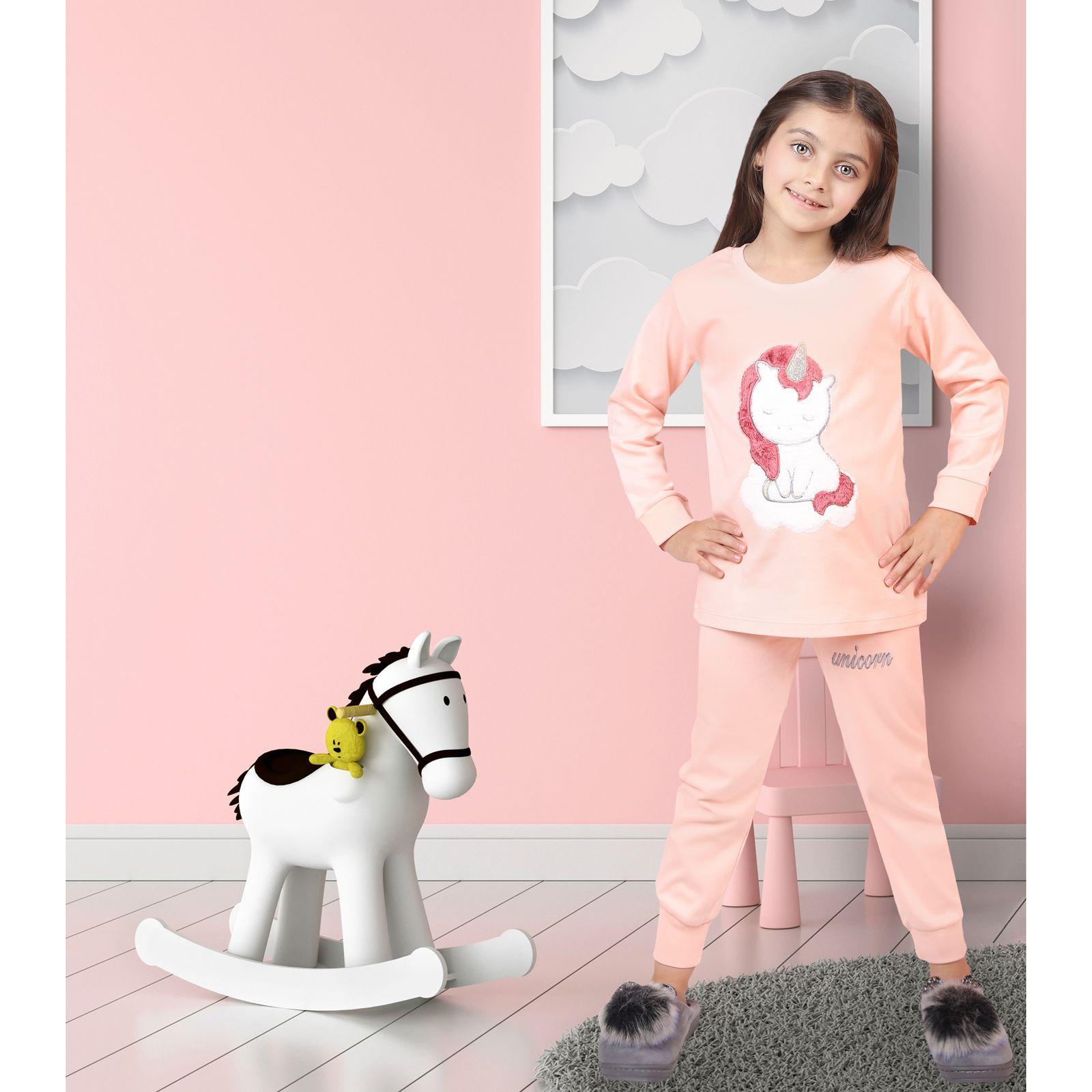ست تی شرت و شلوار دخترانه مادر مدل 303-80 main 1 8
