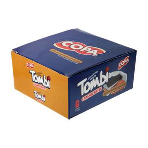 ویفر تامبی کاکائویی کاراملی کوپا با طعم نارگیل - 18 گرم بسته 30 عددی
