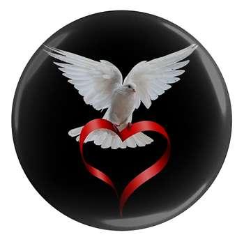 پیکسل طرح پرنده و قلب مدل S1400