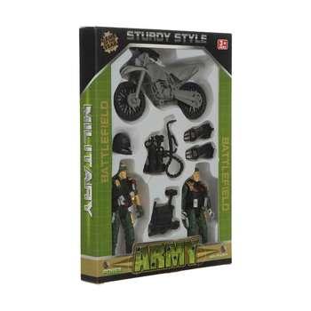 اسباب بازی جنگی طرح سرباز مدل sturdy style مجموعه 7 عددی