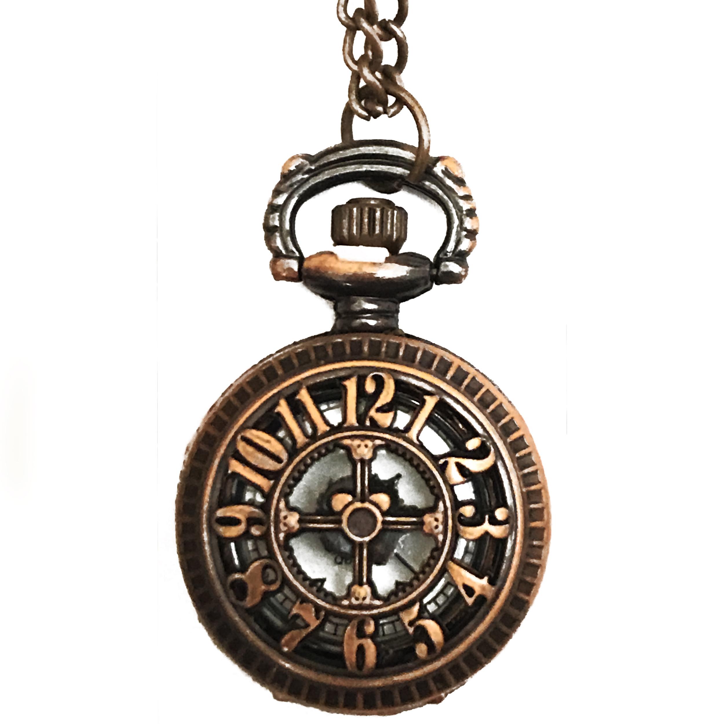 ساعت گردنبندی عقربه ای کد BF12