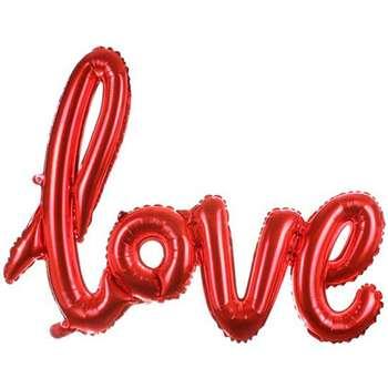 بادکنک فویلی طرح Love کد ۰۱