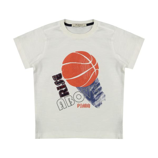 تی شرت پسرانه پیانو مدل 01533-1