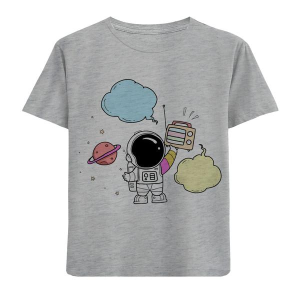 تی شرت بچگانه مدل فضانورد F85